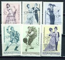 Austria Arts Music Famous Operetta set 1970 MNH