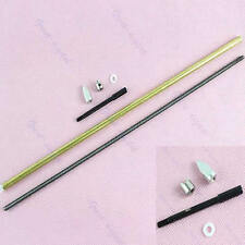 4mm x 14.3 inch 30cm 300mm Cable Shaft Drive Dog Prop Brass Tube Nut For RC Boat
