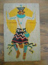 Old Vintage Postcard 1943 Yeibachai Dancer of the Navaho Dene Yucca L.W. Holling