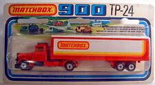 """Matchbox tp24a Peterbilt box Truck """"Matchbox"""" top en OVP"""