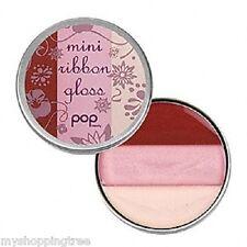 Pop Beauty Mini Ribbon Gloss Lip Gloss PEONY PINK, New!