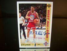 Kevin Johnson Upper Deck 1991 Card #59 Phoenix Suns NBA Basketball