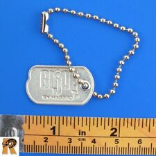 Masterpiece Action Soldier - Dog Tag (Metal) - 1/6 Scale - GI JOE Action Figures