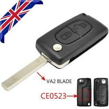 Car Remote Key Shell Case For Peugeot 207 307 308 3008 5008 VA2 Blade CE0523