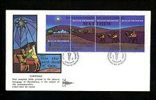 Postal History US Marshall Islands FDC #58-61 Christmas Gill Craft Religious '84