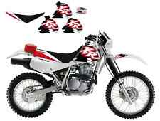 *** BLACKBIRD *** DREAM3 HONDA XR 600 250 350 400   kit grafiche copertina sella