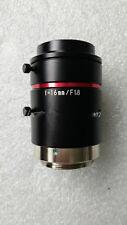 1 pcs KEYENCE f=16mm/F1.8  Lens