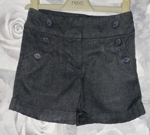 Girls Age 5 (4-5 Years) Next Grey School Shorts