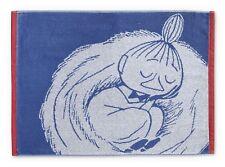 Moomin Hand Towel Little My Sleeping Dark Blue 50 x 70 cm Finlayson