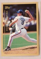 Roger Clemens Toronto Blue Jays 1999 Topps Jumbo #1 Baseball Card  4.5x3.25