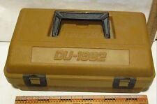 Vtg Federal ammunition case shotshell carrier ammo box rainproof plastic Du-1982