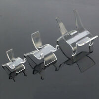 Clear Display Stand Holder Crystal Base Jewelry Shelf Mobile Phone Rack Decor