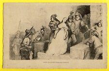 cpa Rare GRAVURE French Révolution Française MORT de la PRINCESSE de LAMBALLE