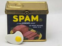 Spam & Egg PHB Hormel Food Hinged Trinket Box Midwest of Cannon Falls