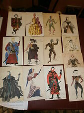 13 cartes de voeux de La Maison Jean Vilar avec envois de Paul Puaux & R. Monod