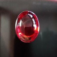 Naga Eyes Red Color Gem Oval Shape Powerful  Pendant Buddha Thai Amulet