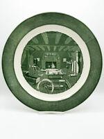 Vintage Royal Colonial Homestead Chop Plate Platter, circa 1950, USA MCM