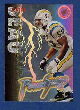 1995 SC Stadium Club JUNIOR SEAU San Diego Chargers Power Surge Insert Card Mint