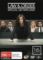 Law And Order SVU - Special Victims Unit : Season 16 DVD : NEW