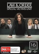 Law And Order SVU - Special Victims Unit : Season 16 : NEW DVD