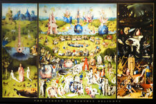(LAMINATED) BOSCH: GARDEN OF EARTHLY DELIGHTS POSTER (61X91CM) PRINT NEW ART