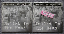 """RAGE AGAINST THE MACHINE """"Bullet In The Head"""" b/w """"Darkness"""" 7"""" Vinyl 45 + Extra"""