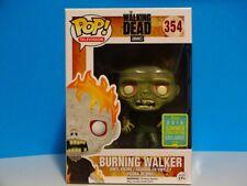 Funko Pop! The Walking Dead #354 Burning Walker  +P/Prot