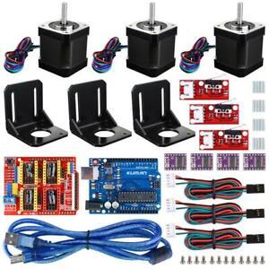 Professional 3D printer CNC Kit for arduino , Kuman GRBL Shield+UNO R3...