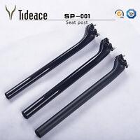 27.2/31.6mm Carbon Bike Seatpost 400mm Full Carbon Fiber Bicycle Seat Tube OEM