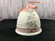 Lladro 1996 Christmas Bell Ornament in Original Box