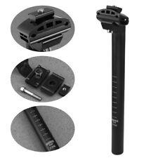 Fahrrad Sattelstütze Sattelstange gefedert  Ø 27,2 mm 300mm schwarz Sattelstütze