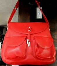 Radley Stables Red Leather Medium Size Shoulder Bag RRP £179 Rarer Design
