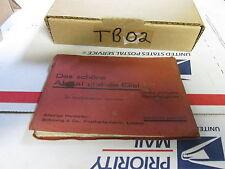 [TB02] 9 pre war German post cards in booklet