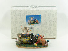 """Charming Tails """"Friendship Is The Reason To Celebrate"""" Figurine - New"""