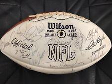 1974 Kansas City Chiefs Signed Team Football JSA CERTIFIED
