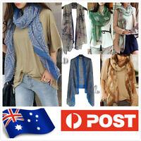 AU SELLER BOHO Soft Cotton Voile Wrap SCARF/SHAWL Beach Sarong Cover UP sc061-64