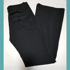 "BCBG Maxazria Black Pinstripe Flared Leg Dress Pants   Women's 4   31"" Inseam"