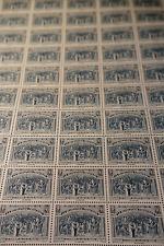 FEUILLE SHEET RÉVOLUTION JEU DE PAUME N°444 x50 1939 NEUF ** LUXE MNH COTE 210€