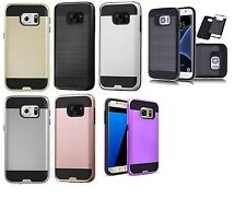 lot 6 Armor Brushed Tough Shockproof Protector TPU Case SAMSUNG galaxy s8 note 8