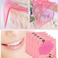 5pcs Sexy Collagen Crystal Lip Care Mask Anti-Ageing Membrane Moisture New  UP