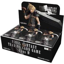 Final Fantasy TCG Opus IV 4 Collection Booster Box (Dissidia/Tactics: War Lions)