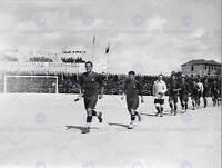VINTAGE PHOTO SPORT FOOTBALL GAME MATCH PORTUGAL ITALY POSTER ART PRINT BB12408B