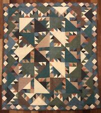 New listing Patch Magic Delectable Mountains Crib Quilt with Solid Colors