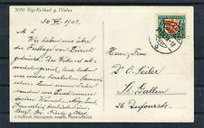 AK Rigi-Kaltbad Mi.-Nr. 230 EF Pro Juventute 1928 nach St. Gallen - b4958