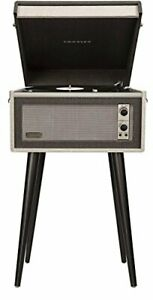 Crosley CR6233D-BK Dansette Bermuda Portable Turntable with Aux-In and Blueto...
