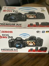 Canon EOS Rebel T3i / EOS 600D 18.0MP Digital SLR Camera - Black w/ Memory 128Gb
