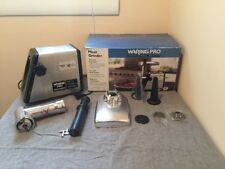 Waring Pro Meat Grinder MG100 - 300 Watt, Die Cast Hopper - Great Condition