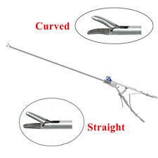 5x330mm Needle Holder V Type Laparoscopy Laparoscopic Endoscopy Curvedstraight