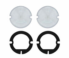Parking Light Clear Lenses w/ Gaskets, Pair, Compatible with Gmc Truck 1