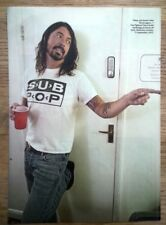 FOO FIGHTERS 'DG makes a point' magazine PHOTO/Poster/clipping 11x8 inches